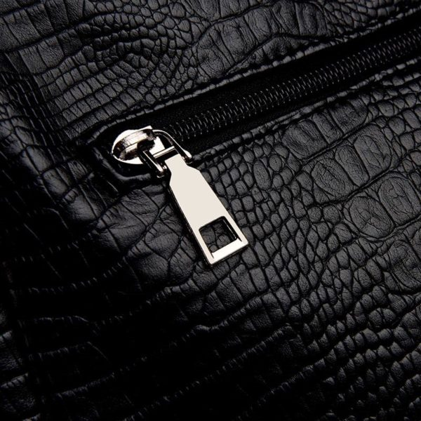 010-the-archetypal-bag-leather-croc-crossbody-bag-for-women-big-bag-zipper-black-leather-purse- (3)