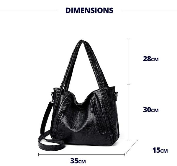 010-the-archetypal-bag-leather-croc-crossbody-bag-for-women-big-bag-zipper-black-leather-purse-totes--(3)