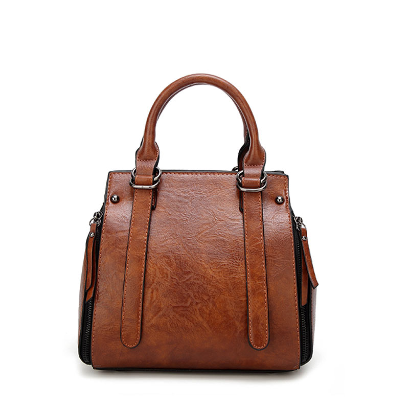 Handbag Leather Vintage Stylish Shoulder Bag For Women