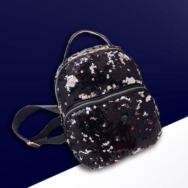 black-sequin-backpack-sequins-for-women-back-pack-shiny-dazzling-