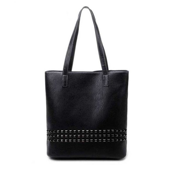 The-Rivet-Tote-Bags-Leather-Tote-Bag-for-women-with-rivets-black-leather-handbag-black-large-totes-big-tote-leather-purse-vintage-