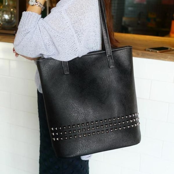 0c64da7c864 The Rivet | Tote Leather Bag | Leather Totes | Womens Tote Bags | Large  Bags for Girls
