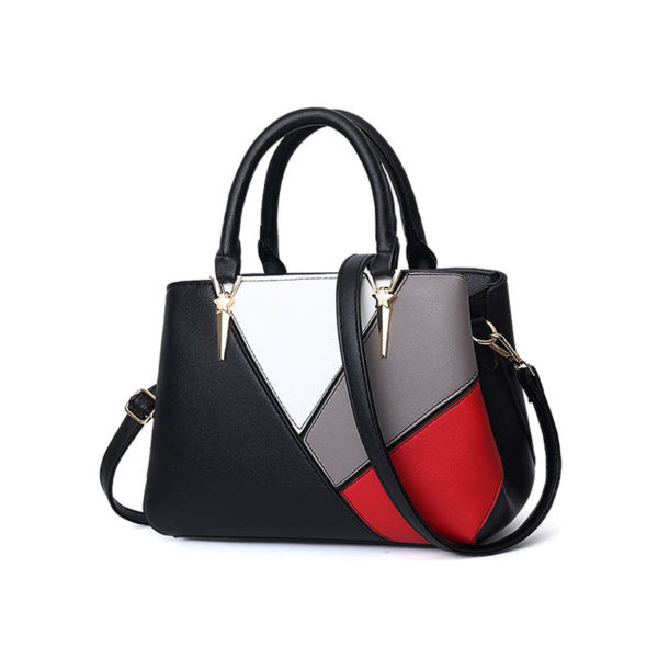 black-leather-handbag-for-women-girls