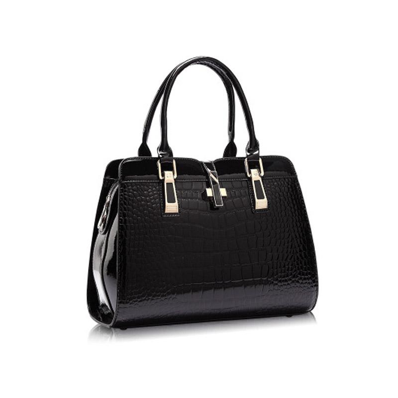 The Italian Croc Clutch Leather Hand Bag Handbags Clutches