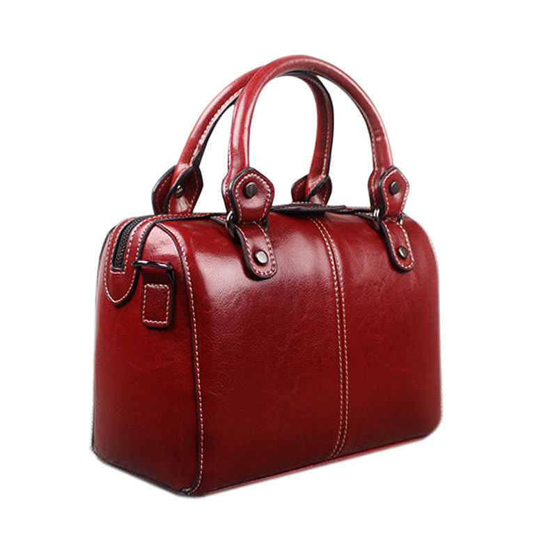 Real Leather Luxury Handbag Designer Tote Bag Shoulder