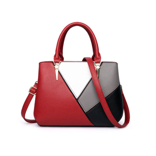 red-leather-handbag-for-women-girls