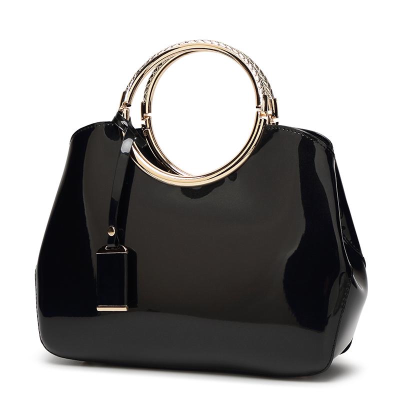 The Circle Bag Clutch Leather Handbag Crossbody Bags