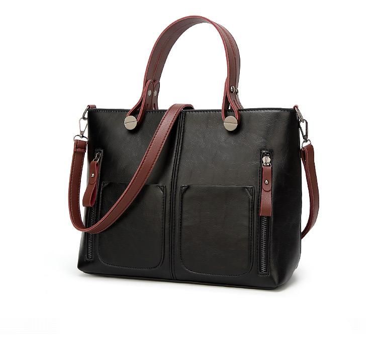 91970a718 The Elegant | Tote Bag - Leather Vintage Shoulder Bag - Womens Totes Hand  Bag | Crossbody Bag