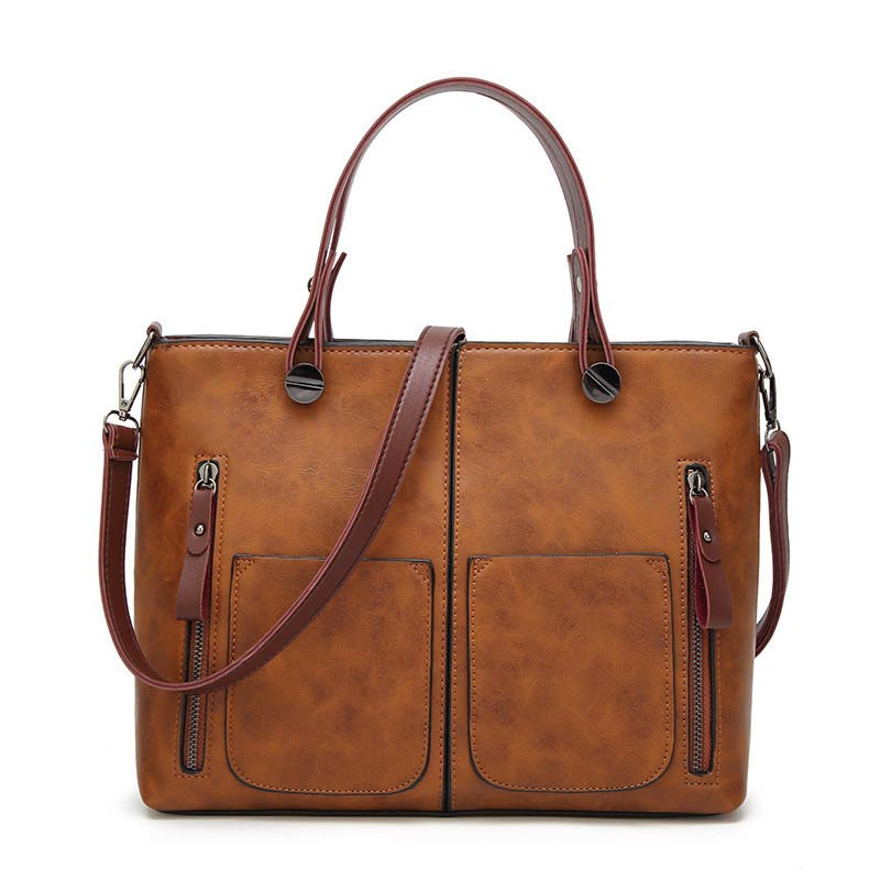 Tote Leather Bag For Women Totes Vintage S