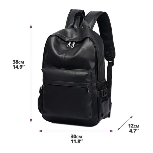 black-leather-backpack