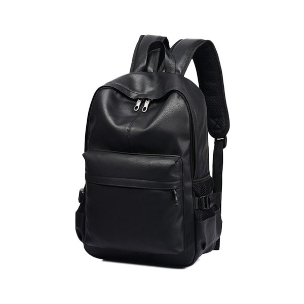 black-leather-backpack-mens-womens-unisex-backpack-leather-black-university-school-work-laptop-backpack-classic black-leather rucksack-(2)