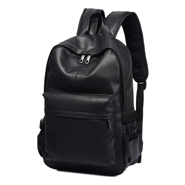 black-leather-backpack-mens-womens-unisex-backpack-leather-black-university-school-work-laptop-backpack-classic black-leather rucksack-(3)