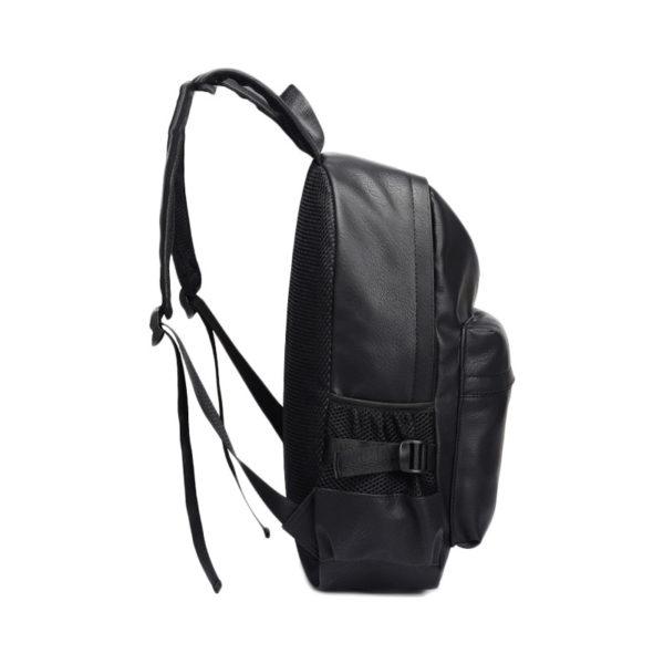 black-leather-backpack-mens-womens-unisex-backpack-leather-black-university-school-work-laptop-backpack-classic black-leather rucksack-(5)