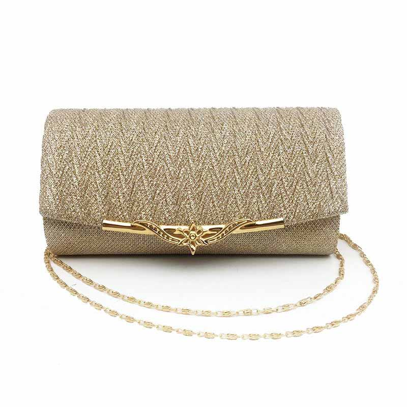 The Discreet Clutch Purse Womens Bag With Chain Shoulder For Wedding Prom Events
