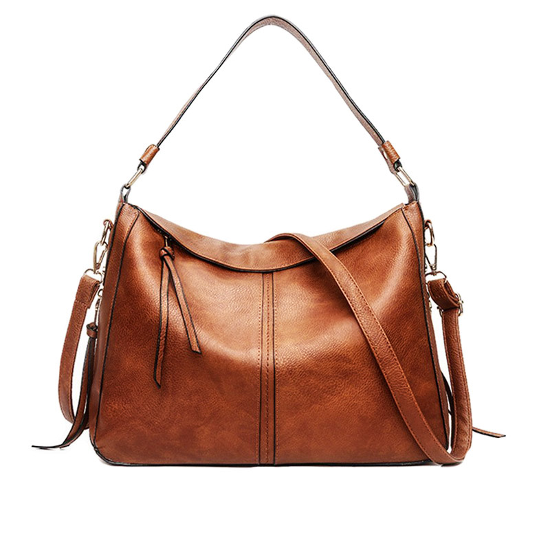 60aed6253 The Nifty | Large Leather Tote Bag | Women's Hobo Crossbody Purse | Leather  Shoulder Bag