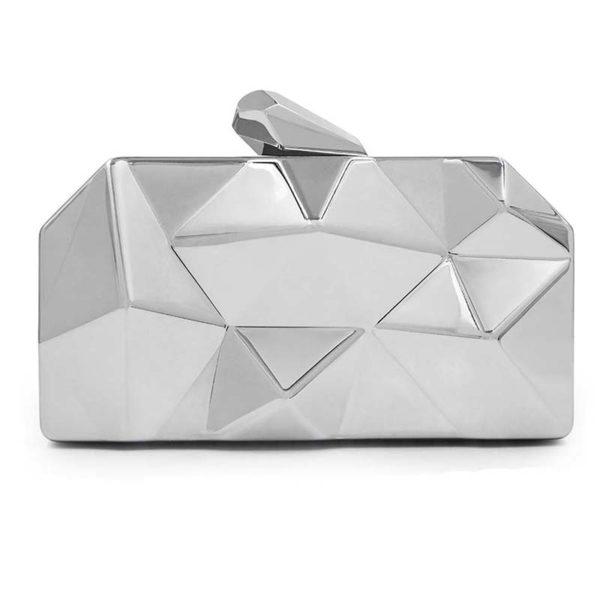 silver-clutch-metallic-bag-3d-metal-clutches-long-chain-womens-bags-for-weddings-prom-evening-silver-metallic-
