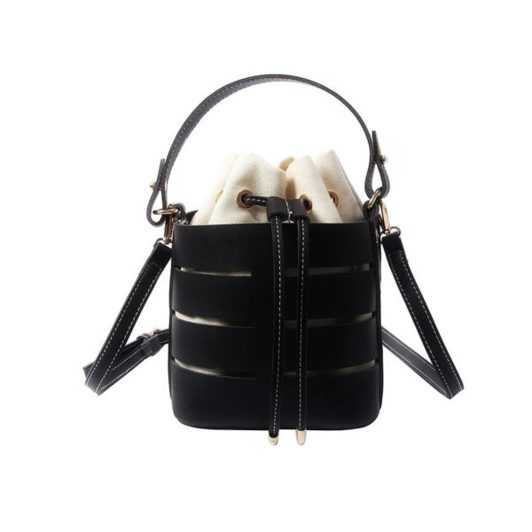 bucket-bag-drawstring-purse-leather-summer-crossbody-handbag-black