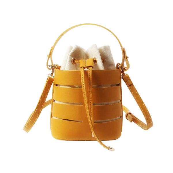 bucket-bag-drawstring-purse-leather-summer-crossbody-handbag-yellow