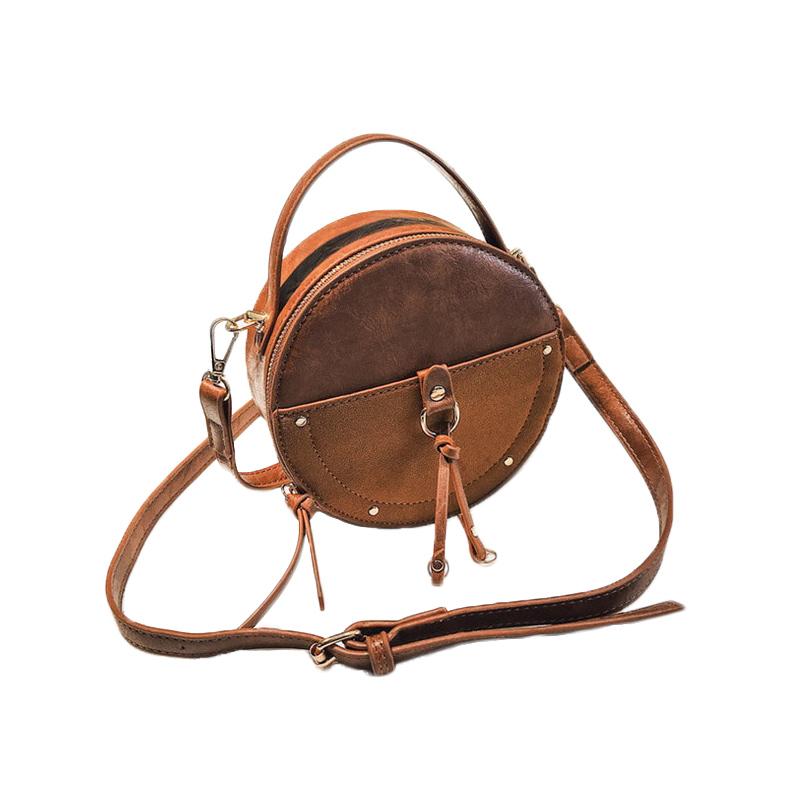 the-round-purse-leather-circle-bag-for-women-girls-circular-shape-bag-vintage-round-bag-brown