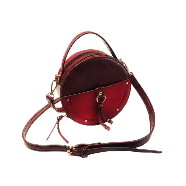 the-round-purse-leather-circle-bag-for-women-girls-circular-shape-bag-vintage-round-bag-burgundy-color-