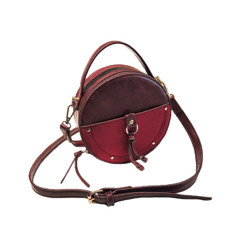 the-round-purse-leather-circle-bag-for-women-girls-circular-shape-bag-vintage-round-bag-burgundy-color