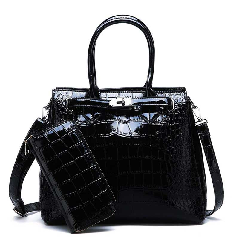 alligator-bag-for-women-beautiful-leather-tote-purse-black-on-sale