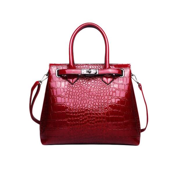 the-alligator-purse-vintage-leather-bag-tote-purse-aligator-handbag-red-color