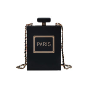 Box-clutch-bag-black-paris-box-shaped-bag-perfume-paris-purse-transparent-clear-(1)