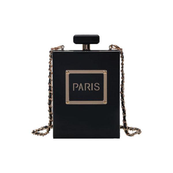 Box-clutch-bag-black-paris-box-shaped-bag-perfume-paris-purse-transparent-clear-(1)